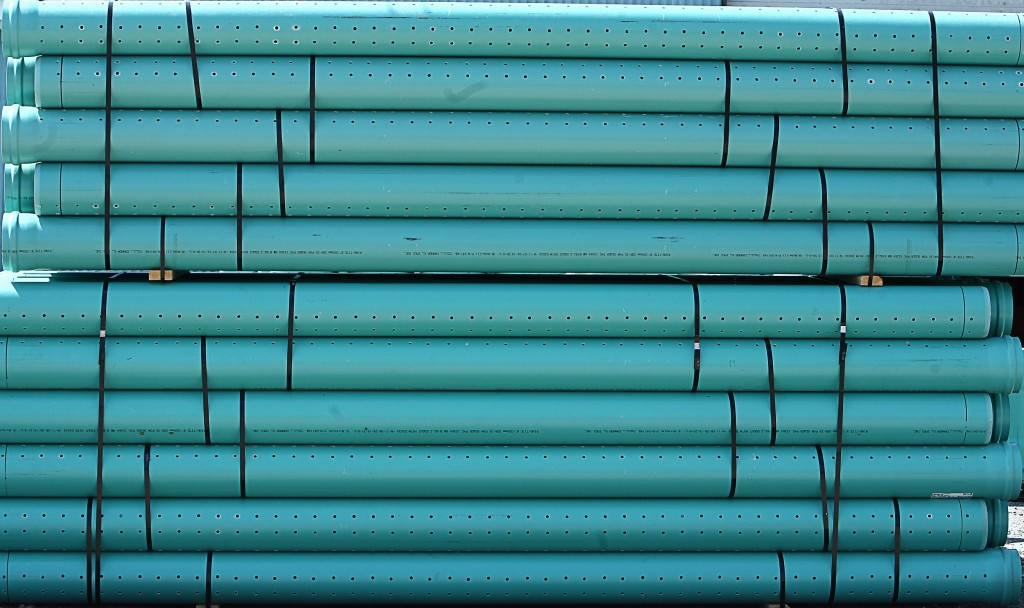 Pvc schedule 40 perforated pipe